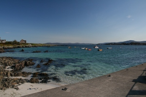 This is where the ferry comes to port on Iona.