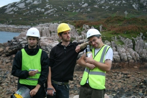 The Camas Rocket Scientist crew- Josef, Adam and Turkadactyl
