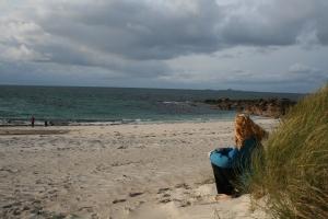 Mrs. Turkadactyl at the north beach