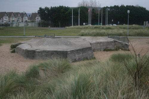 Juno Beach- a German fortification