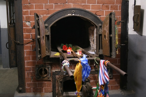 Crematory oven