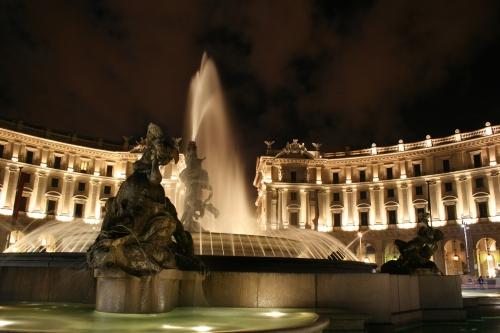 Piazza della Republicca, Rome