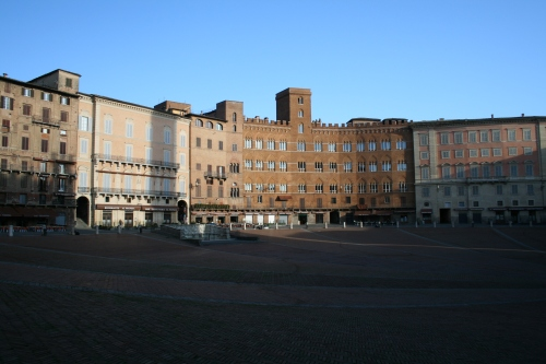 Piazza del campo.  This is the piazza where the big race happens in July and August.