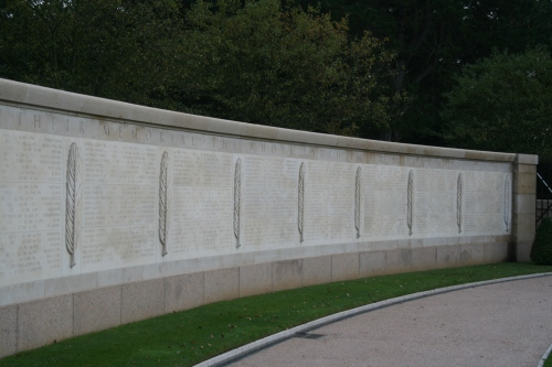 Wall of Memories- the names of all the soldiers whose bodies were never found or could not be identified.