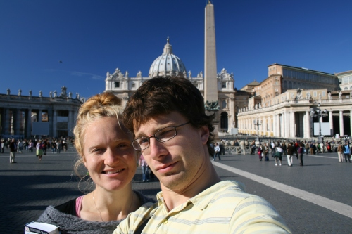 The Turkadactyl's at Vatican City