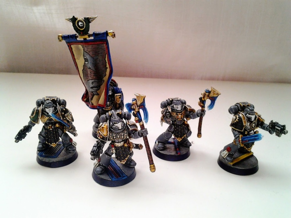 Space Marines Carcharodons- Honour Guard (1/6)