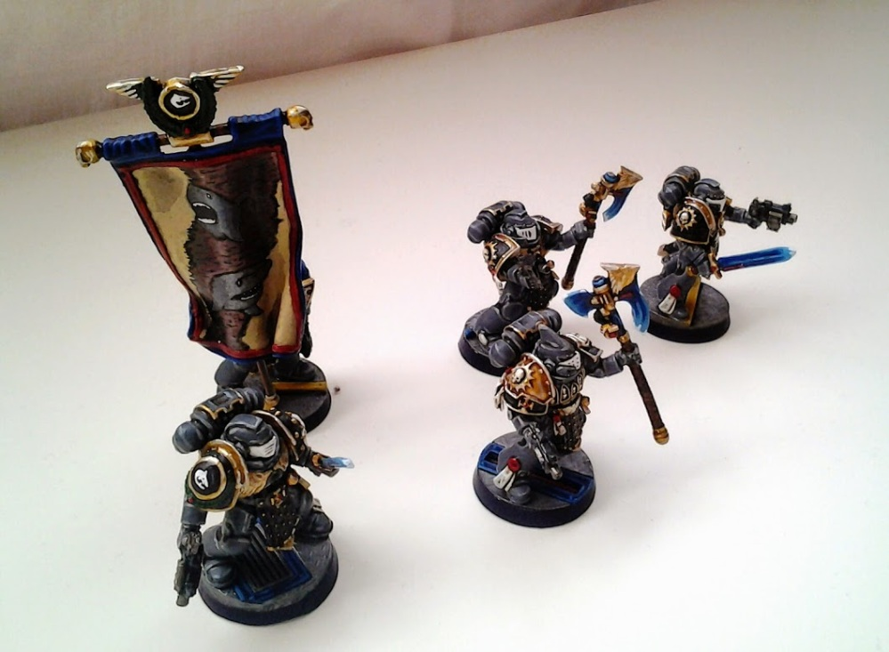 Space Marines Carcharodons- Honour Guard (2/6)