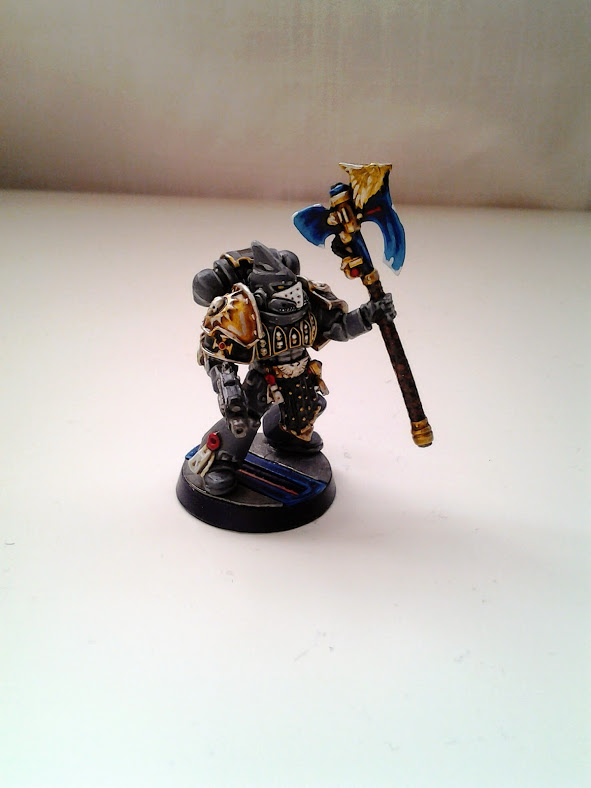 Space Marines Carcharodons- Chapter Champion (1/3)