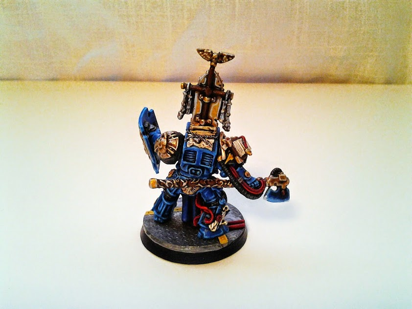 Space Marines Carcharodons- Librarian (5/6)