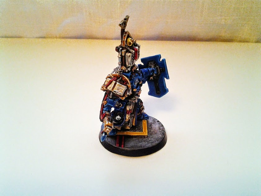 Space Marines Carcharodons- Librarian (6/6)