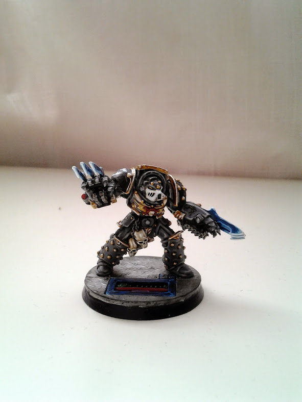Space Marines Carcharodons- Tyberos the Red Wake (1/4)