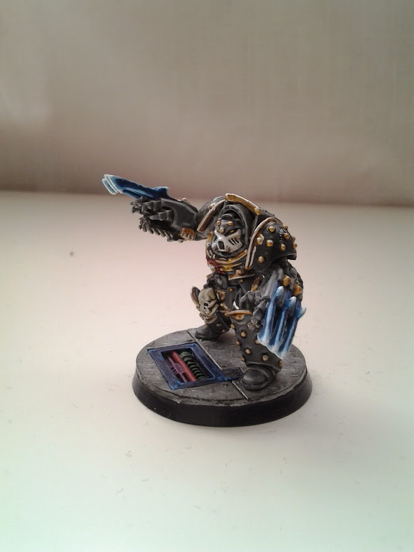Space Marines Carcharodons- Tyberos the Red Wake (2/4)