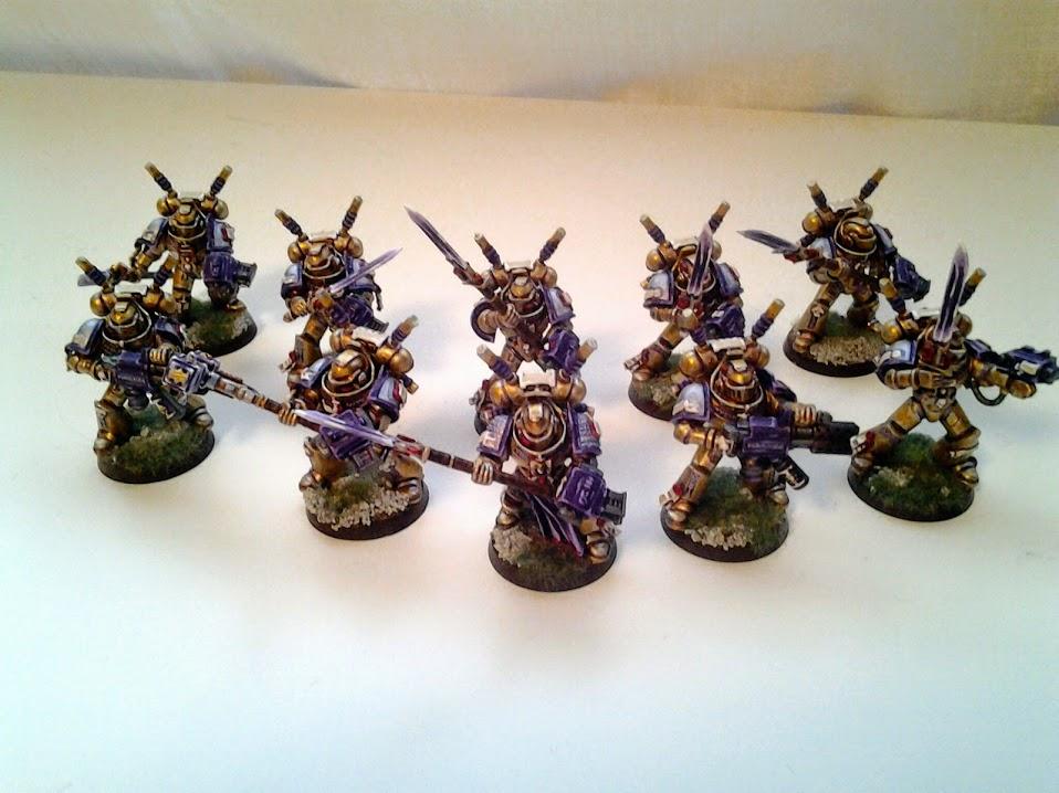 Grey Knights - Interceptors (1/3)