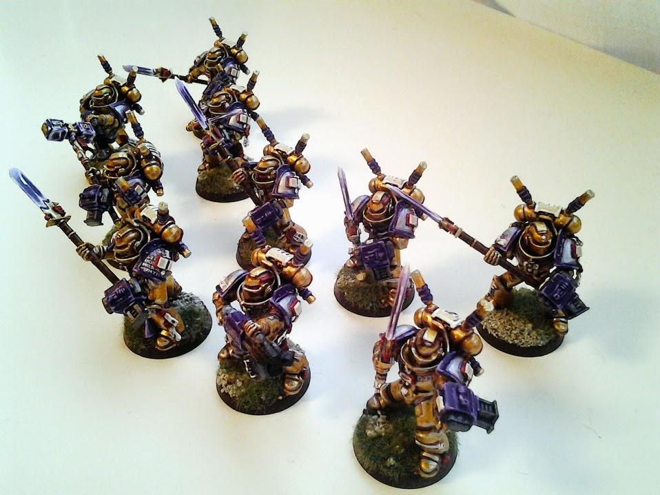 Grey Knights - Interceptors (2/3)