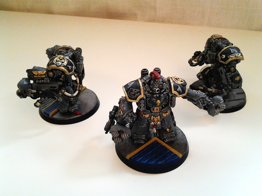 Space Marines Carcharodons- March of the cEnts (Assault Centurions) (1/6)