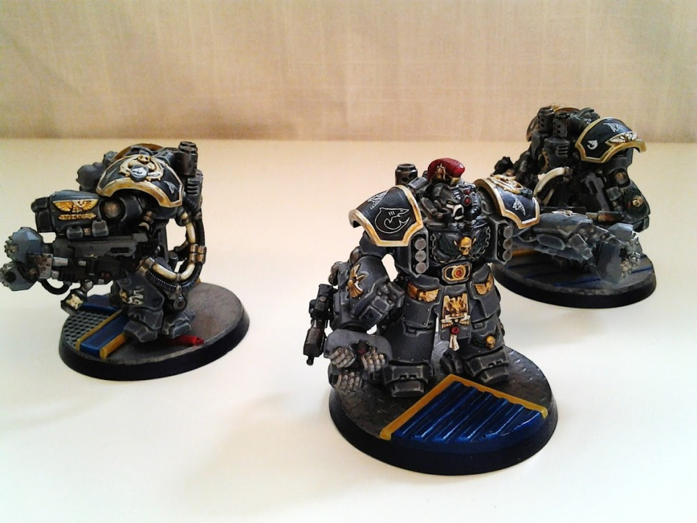 Space Marines Carcharodons- March of the cEnts (Assault Centurions) (3/6)