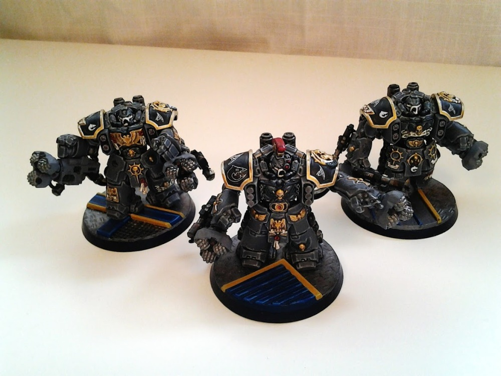 Space Marines Carcharodons- March of the cEnts (Assault Centurions) (4/6)