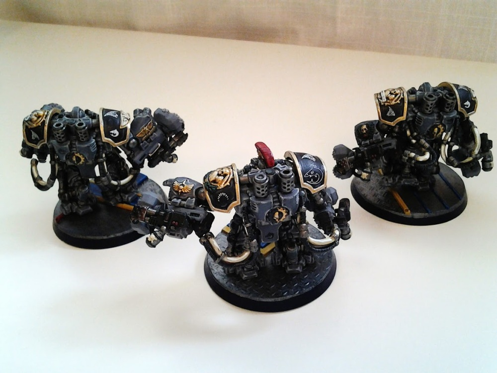 Space Marines Carcharodons- March of the cEnts (Assault Centurions) (5/6)