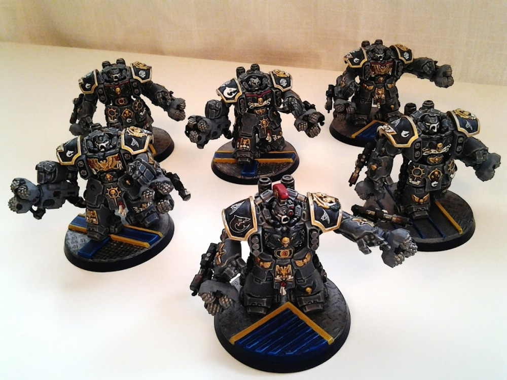 Space Marines Carcharodons- March of the cEnts (Assault Centurions) (6/6)