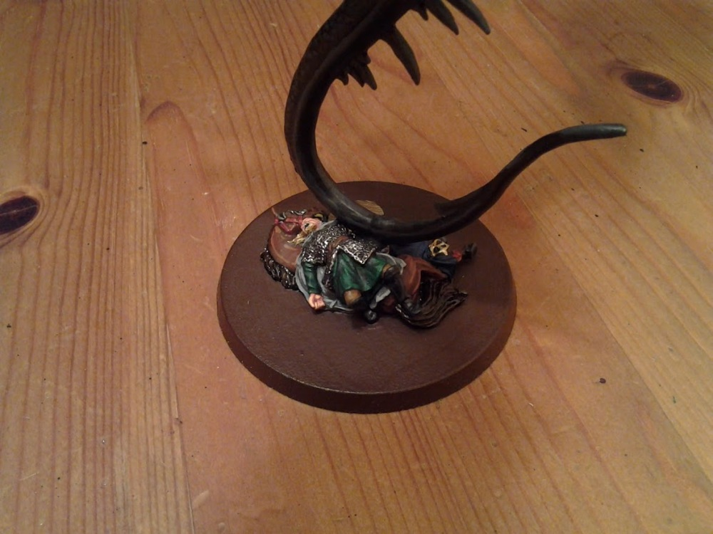 LotR – Witch King on Fell Beast WIP June 29 (5/5)