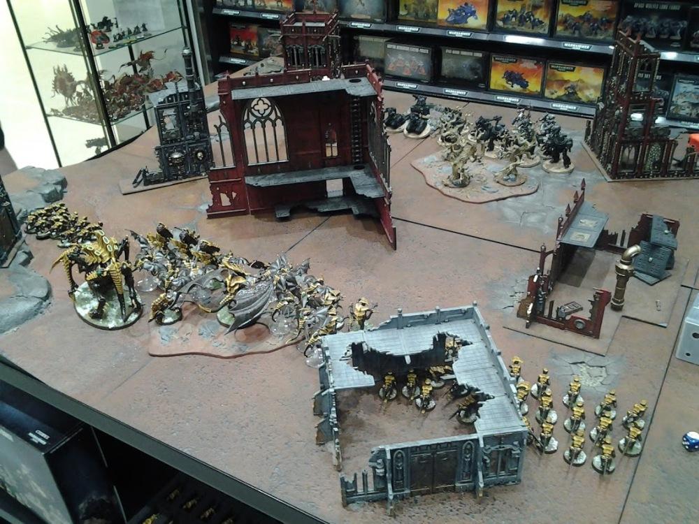 Roost 40K Written Battle Report 010 – 1250 points Tyranids vs Adeptus Mechanicus (1/6)