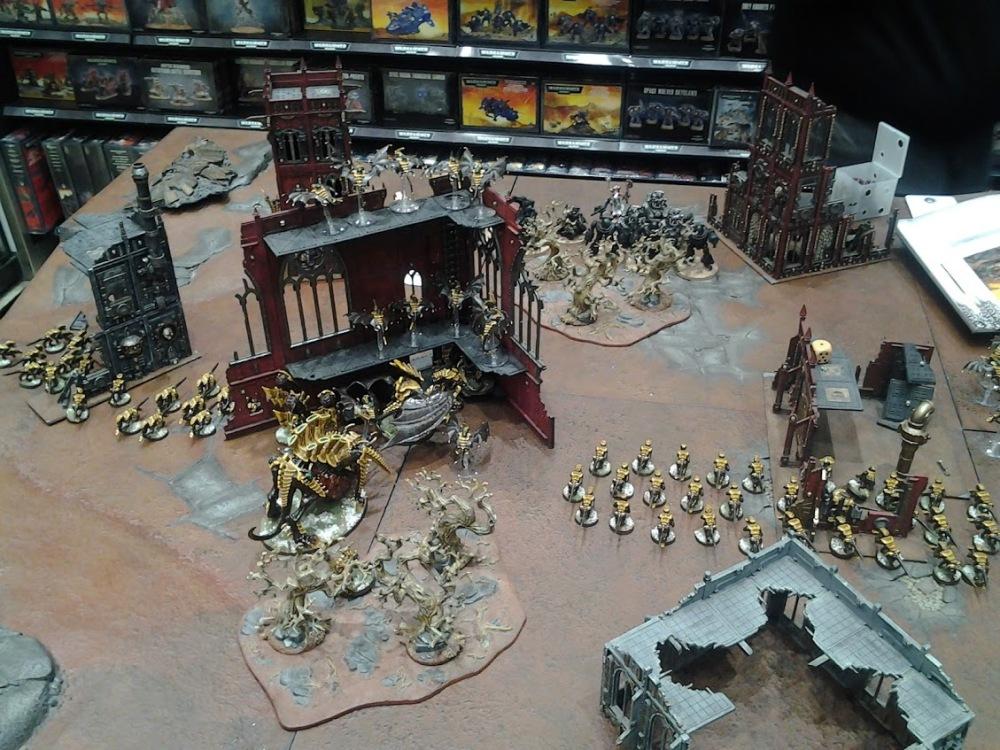 Roost 40K Written Battle Report 010 – 1250 points Tyranids vs Adeptus Mechanicus (4/6)