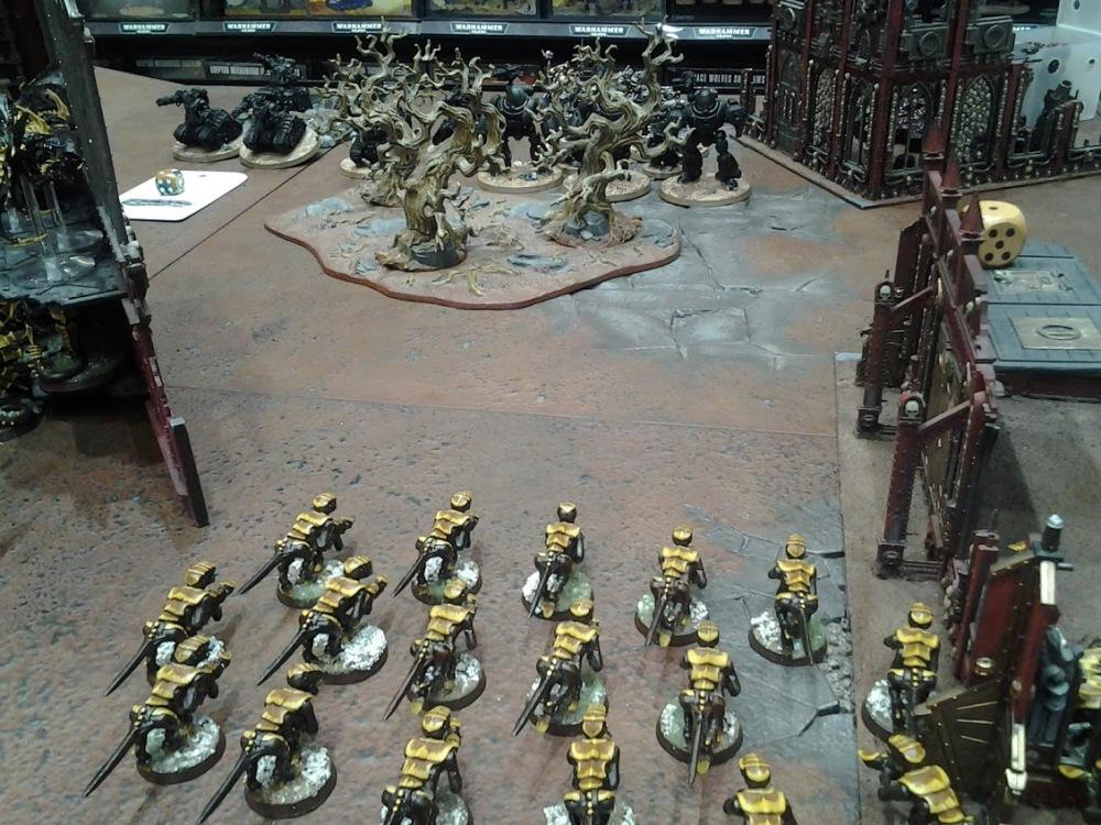 Roost 40K Written Battle Report 010 – 1250 points Tyranids vs Adeptus Mechanicus (5/6)