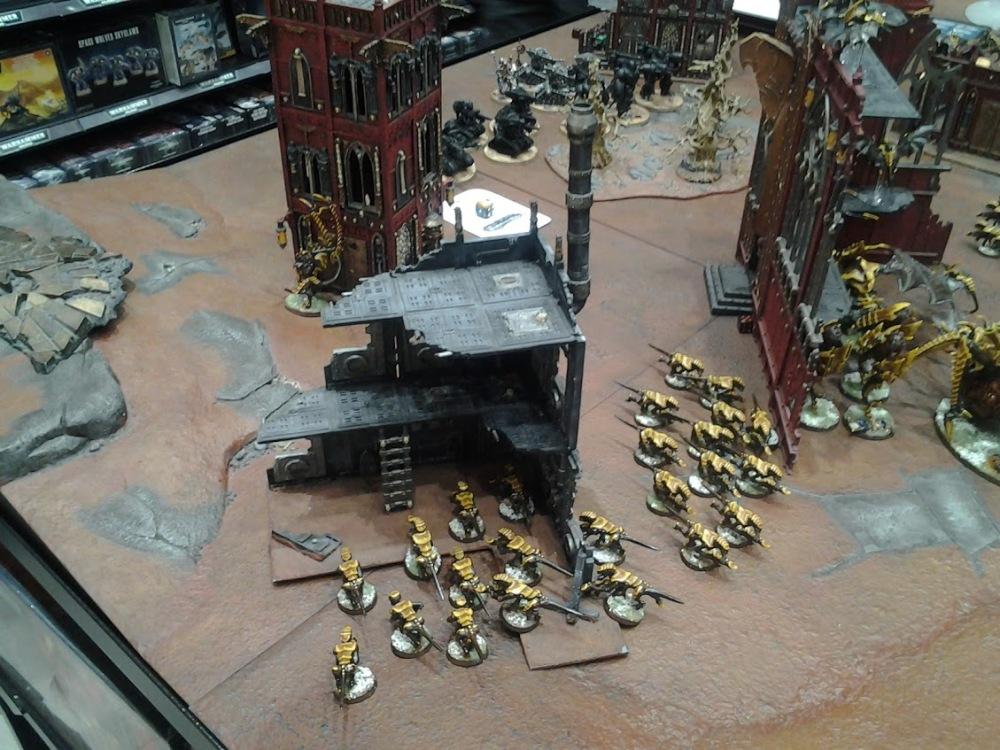 Roost 40K Written Battle Report 010 – 1250 points Tyranids vs Adeptus Mechanicus (6/6)